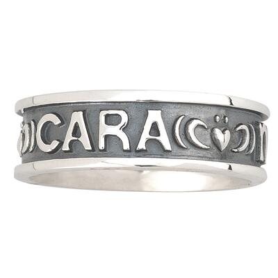 Mens Ring Anam Cara Sterling Silver