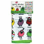 Wacky Woollies kitchen towel