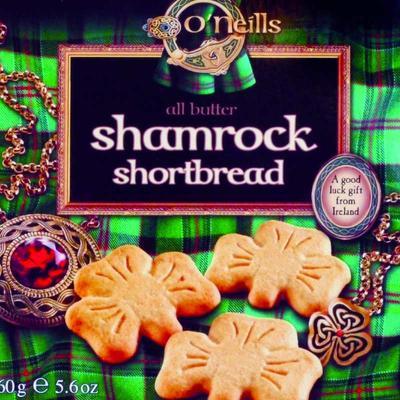 Shamrock Shortbread 160g
