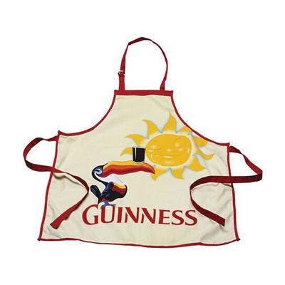 Guinness Küchenschürze mit Tukanmotiv