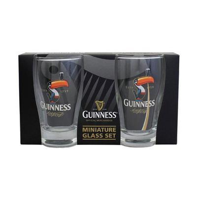 Guinness Mini Glasses Set, Toucan Motif