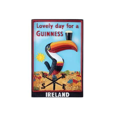 Guinness Magnetschild, Tukan