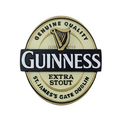 Guinness Magnetic Sign, Guinness Label