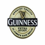 Guinness Magnetic Sign, Guinness Label