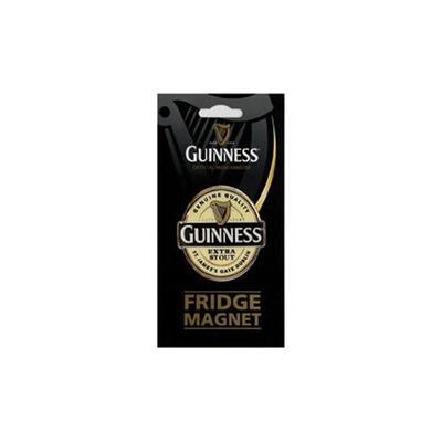 Guinness Chrom Kühlschrankmagnet, Label