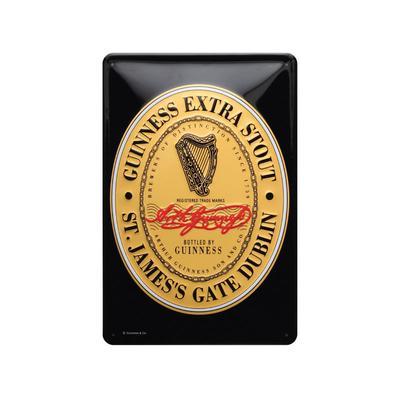 Metal Sign, Guinness St. James Gate Logo