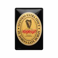 Metal Sign, Guinness St. James Gate Logo