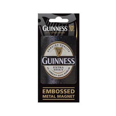 Guinness Relief Magnet, Label
