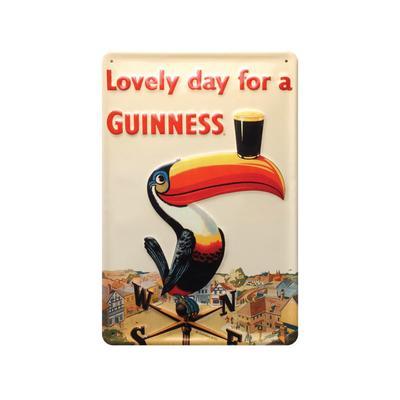 Metal Sign, Guinness Toucan