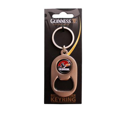 Guinness key ring and bottle opener with toucan