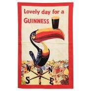 Guinness Küchenhandtuch, Tukan