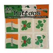 Temporary irish tattoos, 48 pieces