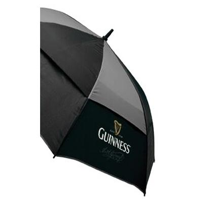 Large golf umbrella with Guinness logo
