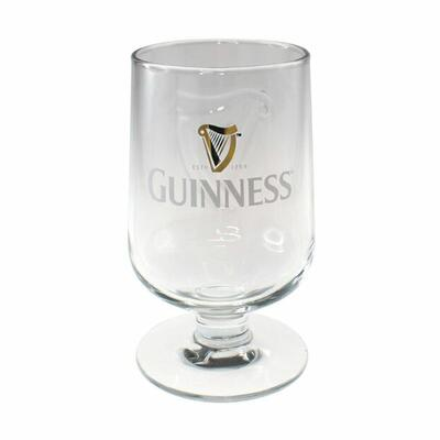 Embossed Guinness Glass in Tulip Shape 6 x 0,33l