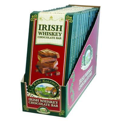 Kate Kearney Irish Whiskey Chocolate Bar BOX