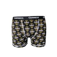 Boxer shorts with Guinness logo, black
