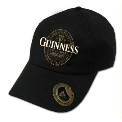Black Cap with Guinness Logo