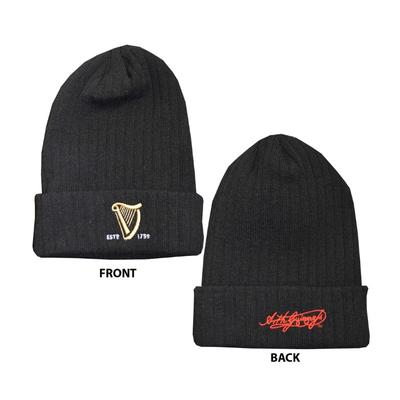 Guinness Cap Black, One Size Fits All