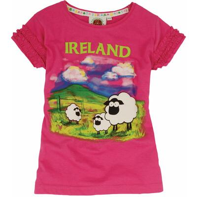 Girls Ireland T-Shirt, pink
