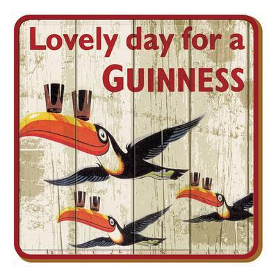 "Guinness Untersetzer ""Flying Toucan"""