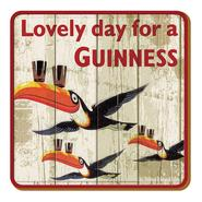 Guinness Untersetzer Flying Toucan
