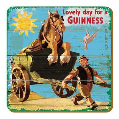 """Guinness Untersetzer """"Kutsche"""""""
