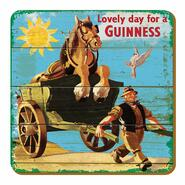 Guinness Glass Coaster Carriage