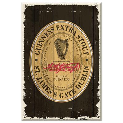 """Guinness Holzschild """"St. Jamess Gate"""""""