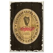 Guinness Holzschild St. Jamess Gate
