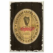 Guinness Wooden Sign St. James Gate