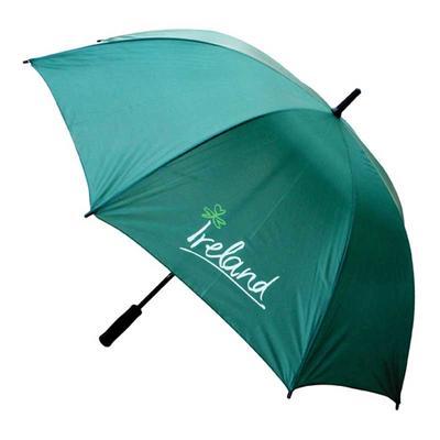 Large golf umbrella with Ireland writing