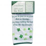 Kitchen towel with Irish blessing