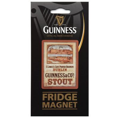 Guinness Magnet Nostalgia St.James Gate