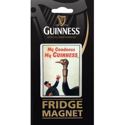 """Guinness Magnet """"Ostrich"""""""
