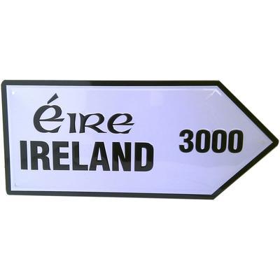 Blechschild Ireland Straßenschild 3000
