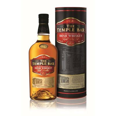 The Temple Bar Traditional Irish Whiskey 0,7l