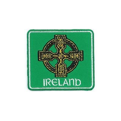 Ireland Celtic Cross Patch 6,5 x 6 cm