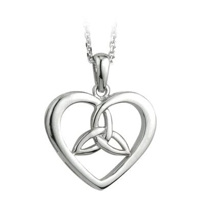 Heart pendant with Celtic Knot