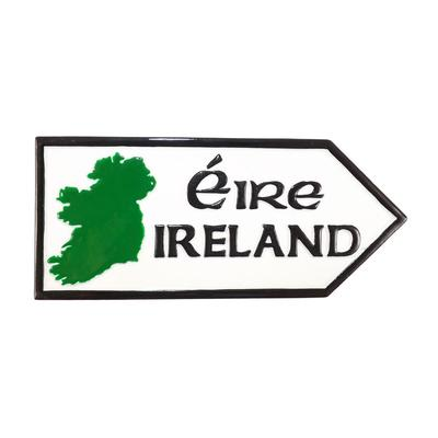 Road magnetic sign resin, Ireland
