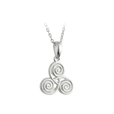 Anhänger Keltische Spirale, Sterling Silber