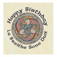 Geburtstagskarte mit Umschlag