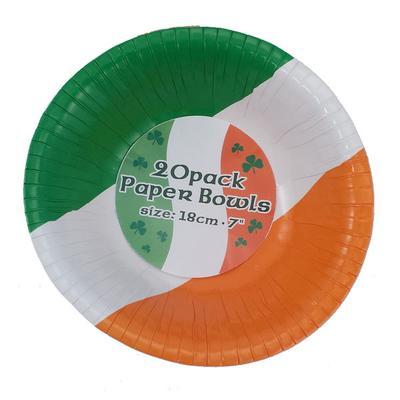 Irland-Pappschüsseln 20 Stück