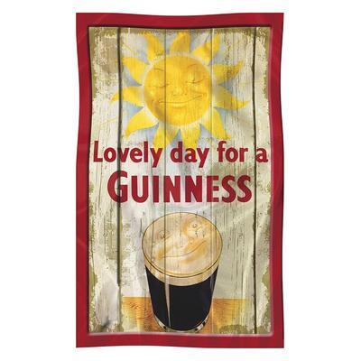 "Guinness Kitchen Towel ""Sun"""