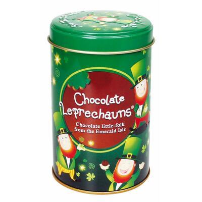Leprechaun Schokolade in Blechdose