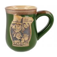 Leprechaun mug pottery