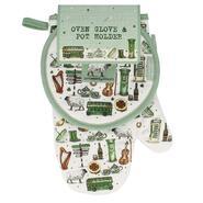 Ireland oven clove & pot holder
