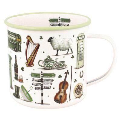 Enamel Mug Ireland