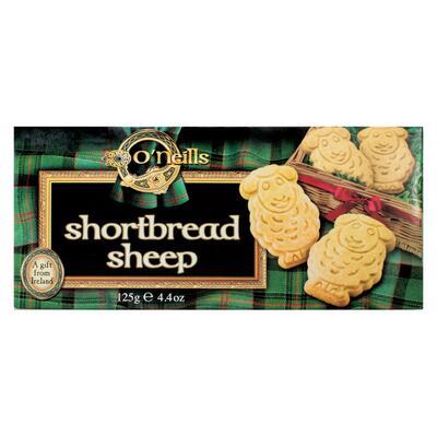 Sheep Shaped Shortbread 125g