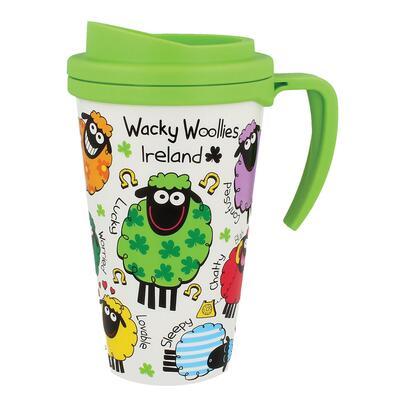 Wacky Woollies Travel Mug