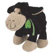 Soft Toy Sheep with Bow Black